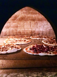 Taverna Le Coppelle Roma - Pizza cotta a legna